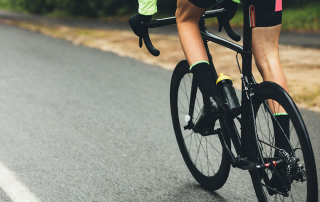 How a bicycle accident takes place